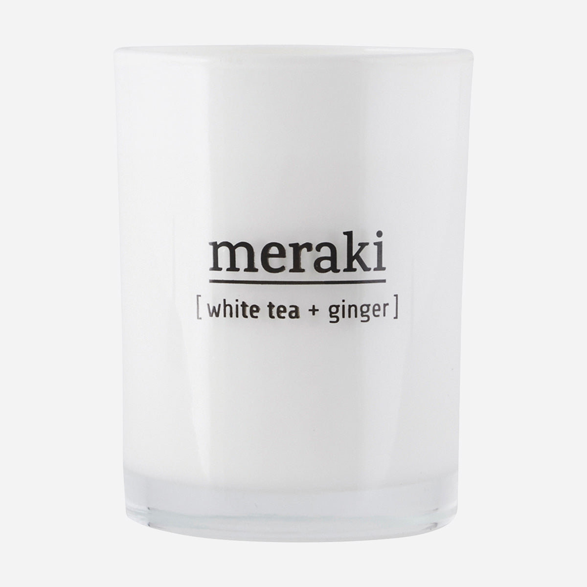 Meraki Duftlys White Tea & Ginger