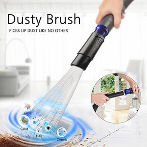 New Dust Daddy Universal Vacuum Head Dust Cleaner | Multi-Functional Cleaning Accessories Tubes