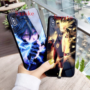 (HOT SALE!)Naruto Ultra-thin Induction  Light Phone Case - Super Cool Phone Cases!