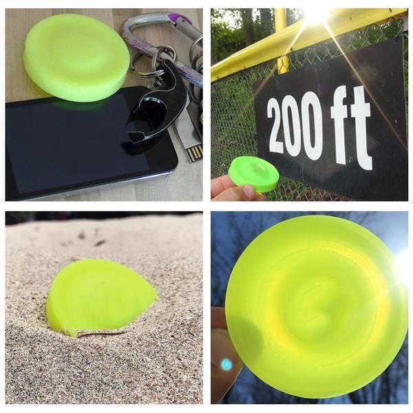 MINIFRISBEE™ - A NEW SPIN ON THE GAME OF CATCH