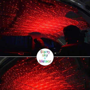 2019 Car USB LED Ambient Starry Light