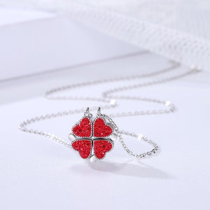 Lucky Four-Leaf Clover Necklace - Buy 1 Get 1 Free(TODAY ONLY!!)