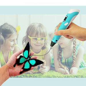 3D Printing Pen With Filament