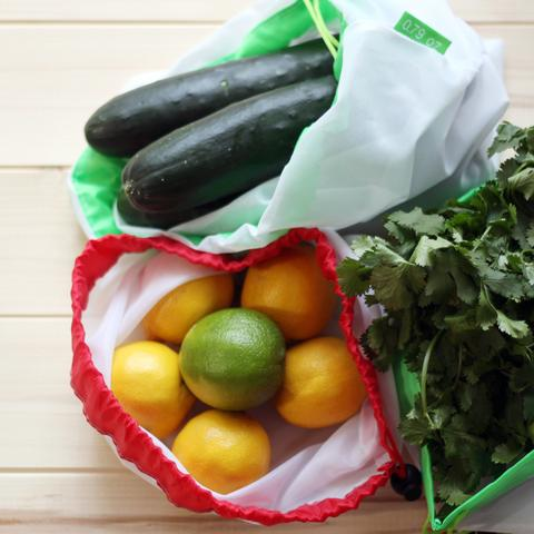 Zero-Waste Reusable Produce Bags - 9pcs