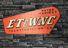 ET&WNC Trucking Company Sign