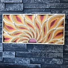 Sunrise Wall Panel