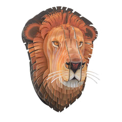 Leon Lifelike Cardboard Lion Head