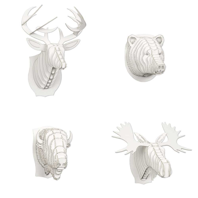 Nano Animal Heads (Set of 5)