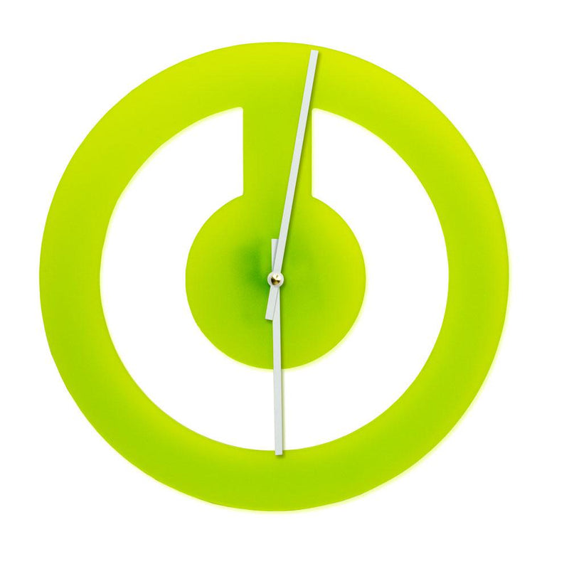 Power Up Clock-Green-Clearance