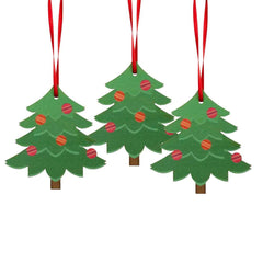 Christmas Tree and Wreath Ornaments