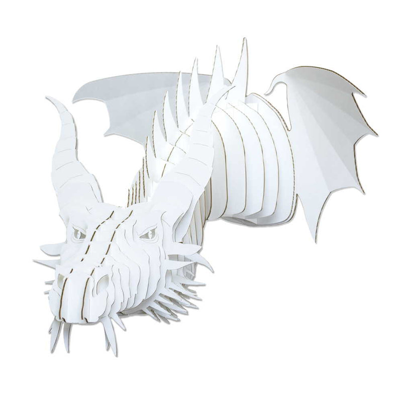 Nikita Cardboard Dragon Head