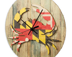 Maryland Crab Clock