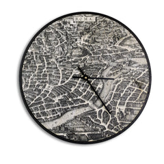 Wall Clock Birch-Rome Print-Clearence