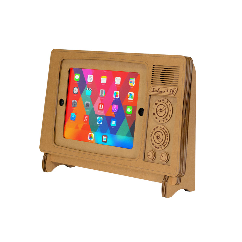 Safari TV Cardboard iPad® Stand
