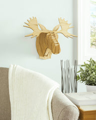 Fred the Birch Moose Head