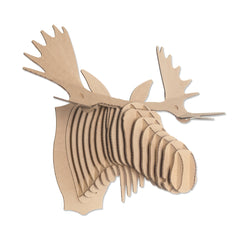 Fred Cardboard Moose Head