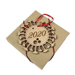 2020 Covid Holiday Ornament