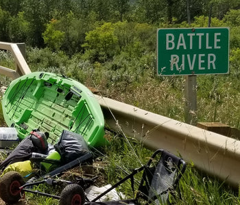 The battle river, A Solo Journey in my Kayak.