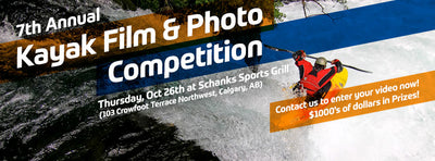 Aquabatics Calgary 7th Annual Kayak Film Comp