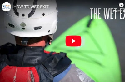How to Wet Exit - Beginner Kayak Instruction Video