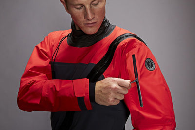 Mustang Hudson Drysuit info Night and Fitting!