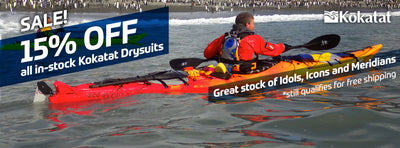 SAVE 15% off all In Stock Kokatat Drysuits