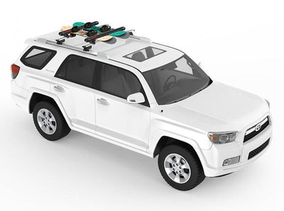 The Yakima Fatcat 4 & 6 - Rooftop Ski & Board Carrier.
