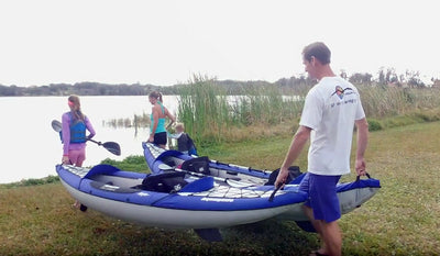 Inflatable Kayaks & SUPs - An ideal option for RV's and Camping Trips