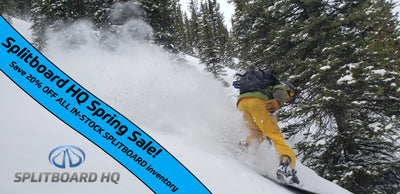 Splitboard HQ - 2020 Spring Season Sale