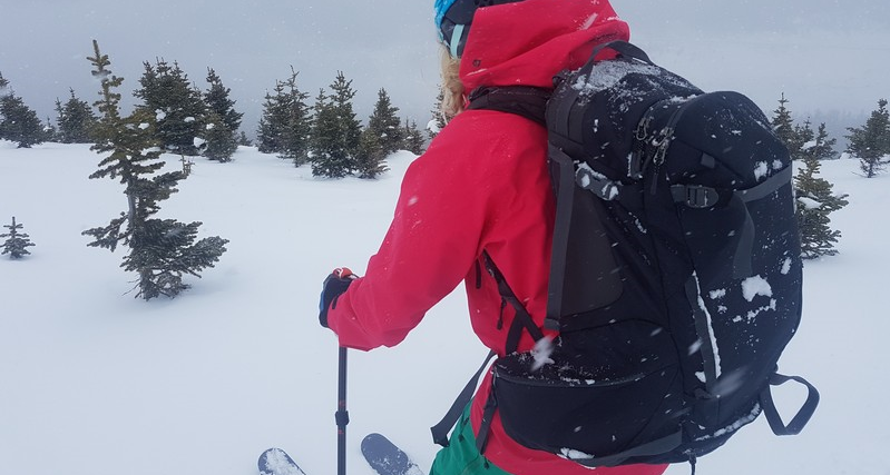 bbb358adb05 The Gear Review |Thule Upslope 35L Ski Backpack – AQOutdoors