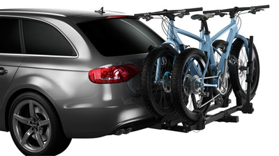 Is it illegal for your hitch mounted bike rack to cover your license plate?