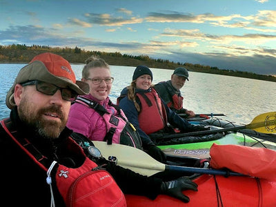 Earlier Rise Paddling for a Cause - Bryan Hume