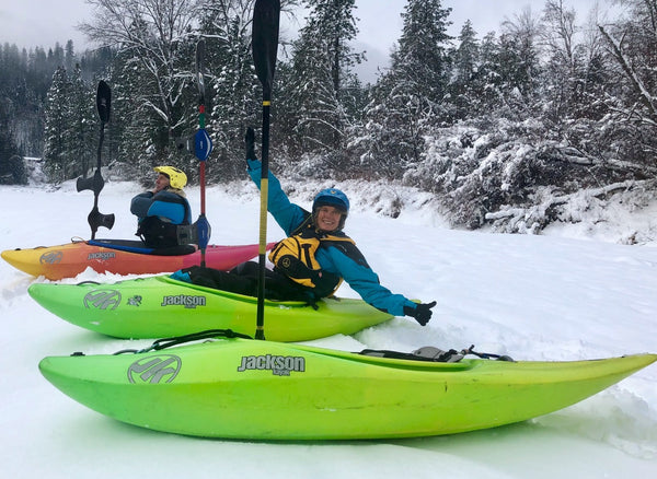 winter kayaking in canada