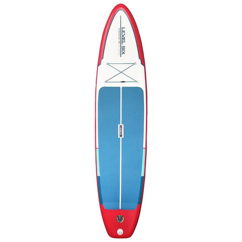 "Level Six iSUP 11' 6"" Inflatable SUP Board Package-AQ-Outdoors"