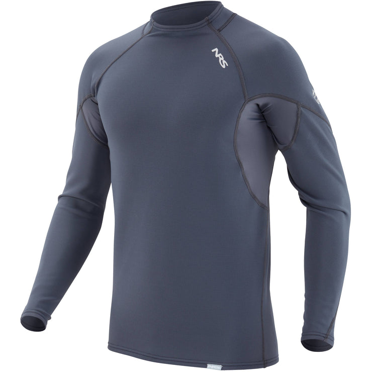 2021 NRS Mens HydroSkin 0.5 Long-Sleeve Shirt-Paddling Insulation-NRS-AQ Outdoors Aquabatics