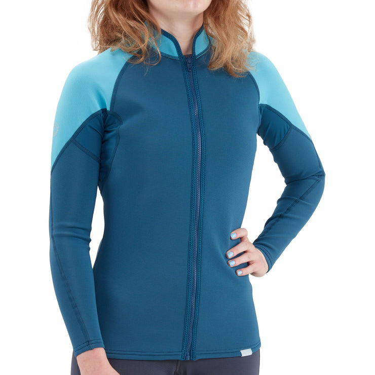 2021 NRS Womens HydroSkin 0.5 Jacket-Paddling Insulation-NRS-AQ Outdoors Aquabatics
