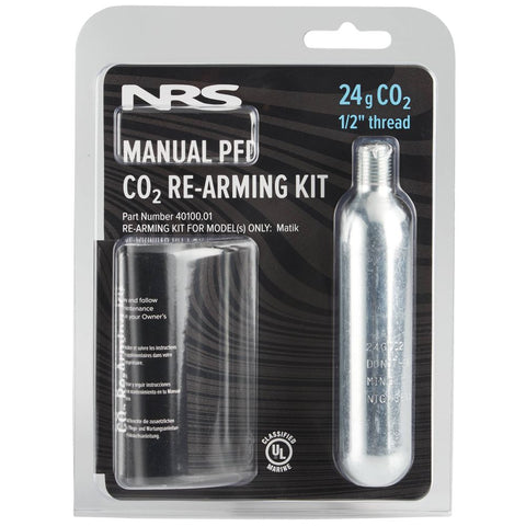 NRS Matik PFD 24g C02 Re-Arming Kit