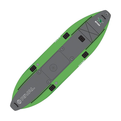2021 STAR Rival Fish Inflatable Fishing Kayak-AQ-Outdoors