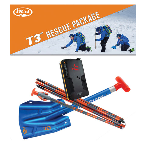 BCA Tracker 3 Rescue Package-Splitboard HQ - Avalanche Transceivers-BCA-AQ Outdoors Aquabatics