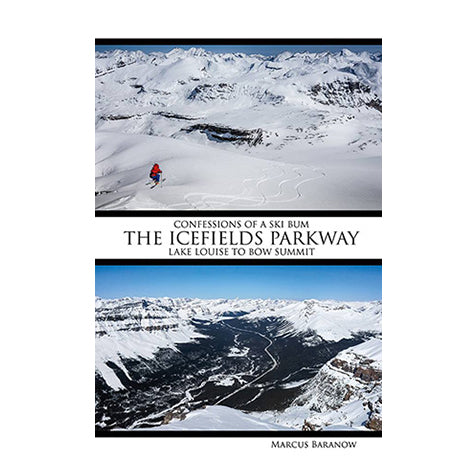 Confessions Of A Ski Bum - Icefields Parkway Guide Book-Splitboard HQ - Splitboard/Ski Guidebooks-Splitboard HQ-AQ Outdoors Aquabatics