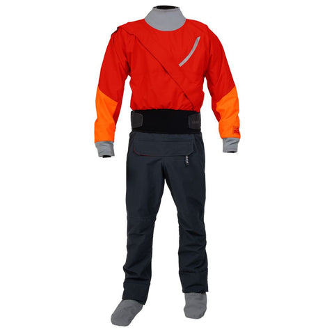 2021 Kokatat Mens GORE TEX Meridian Drysuit Red