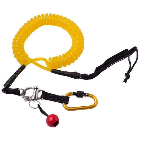 Level Six Quick Release SUP Leash - Coil-AQ-Outdoors