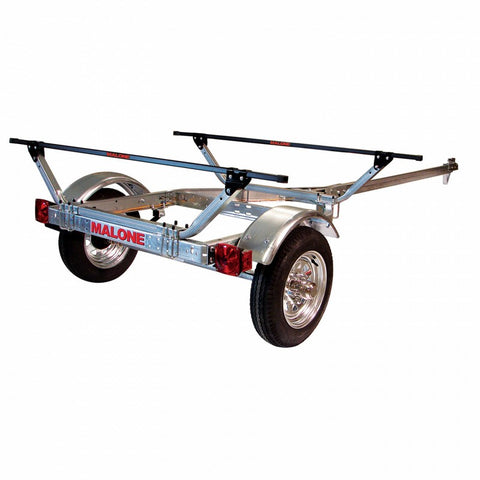 Malone Microsport BasicTrailer-Racks - Trailers and Parts-Malone-AQ Outdoors Aquabatics
