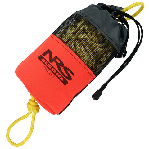 NRS Compact Rescue Throw Bag 70' Orange-AQ-Outdoors