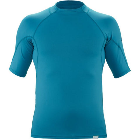 NRS Men's H2Core Rashguard Short-Sleeve Shirt-AQ-Outdoors