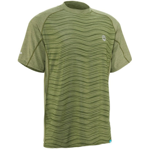NRS Men's H2Core Silkweight Short-Sleeve Shirt-AQ-Outdoors