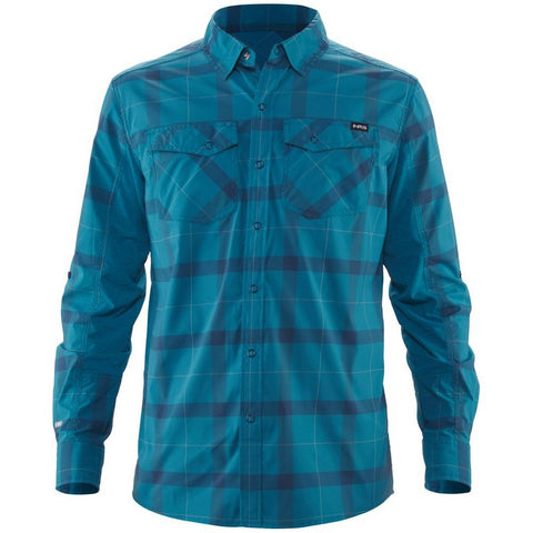 NRS Men's Long-Sleeve Guide Shirt-AQ-Outdoors