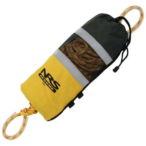 NRS Pro Rescue Bag 75' Yellow-AQ-Outdoors