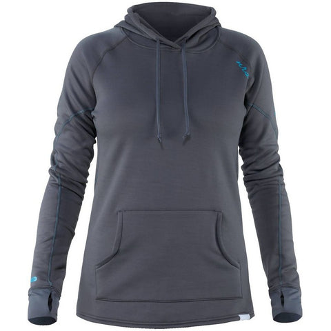NRS Women's H2Core Expedition Weight Hoodie-AQ-Outdoors