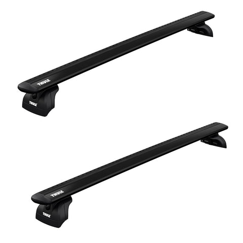 Thule Wing Bar Evo Roof Rack for Flush Rails, Fixed Points and Tracks-Racks - Fixed Point Systems-Thule-AQ Outdoors Aquabatics